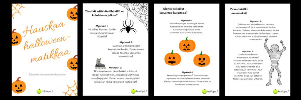 Halloween, matematiikka